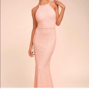 LuLu's Pink Gown